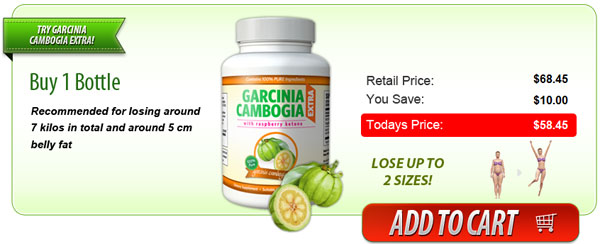 Try Garcinia Cambogia Extra & Save 16% OFF